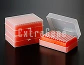 10ul Pipette Tips Racked